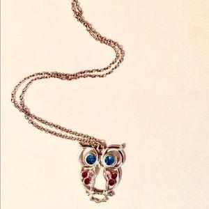 Jewelry - Owl Pendant Statement Necklace